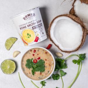 Coconut Milk Thai Bone Broth Soup